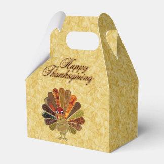 Glücklicher Erntedank die Türkei - Geschenkschachtel
