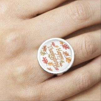 Glücklicher Erntedank Ring