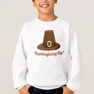 Glücklicher Erntedank-Tageshut-Entwurf Sweatshirt
