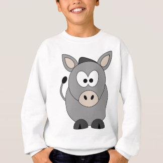 Glücklicher Esel Sweatshirt