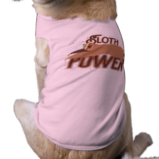 Glücklicher fauler kriechender Sloth-Power Shirt