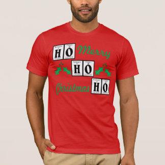 Glücklicher Feiertag, frohe Weihnachten T-Shirt