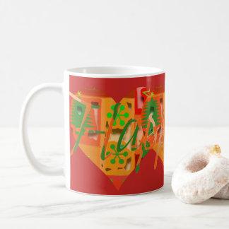 Glücklicher Feiertag Kaffeetasse