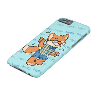 Glücklicher Fox iPhone 6/6S Fall Barely There iPhone 6 Hülle