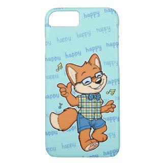 Glücklicher Fox iPhone 7 Fall iPhone 8/7 Hülle