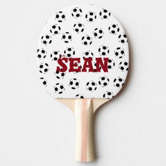 Glücklicher Fußball durch Happy Juul Company Tischtennis Schläger