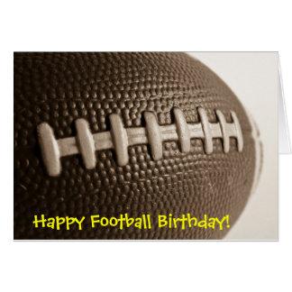 Glücklicher Fußball-Geburtstag Karte