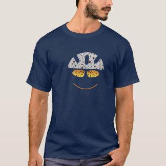 Glücklicher Gebirgsradfahrer-T - Shirt