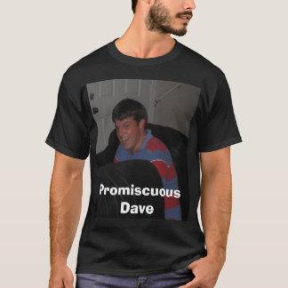 glücklicher, gemischter Dave T-Shirt