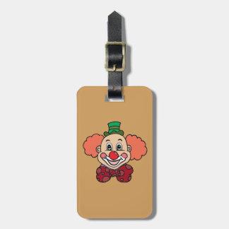 Glücklicher Gesichts-Clown Gepäckanhänger
