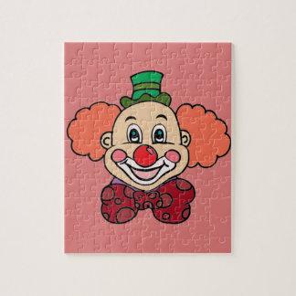 Glücklicher Gesichts-Clown Puzzle