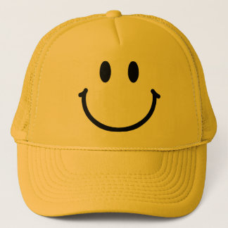 Glücklicher Gesichts-Hut Truckerkappe