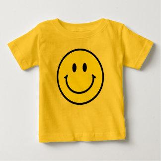 Glücklicher Gesichts-Säuglings-T - Shirt