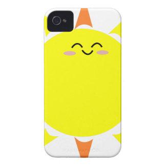 Glücklicher glänzender Sun Case-Mate iPhone 4 Hüllen