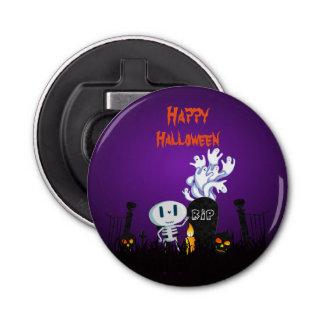 Glücklicher Halloween-Friedhofs-gespenstisches Flaschenöffner