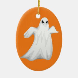 Glücklicher Halloween-Geist Keramik Ornament