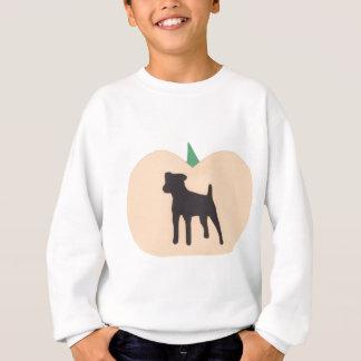 Glücklicher Halloween-Jack-Russell-Terrier Sweatshirt