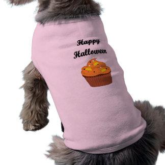 Glücklicher Halloween-kleiner Kuchen Top