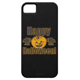 Glücklicher Halloween-Kürbis-schwarze Katzen Barely There iPhone 5 Hülle
