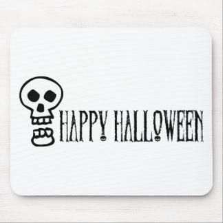Glücklicher Halloween-Schädel 1 Mousepad