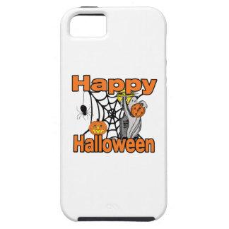 Glücklicher Halloween-Spinnen-Netz-Geist iPhone 5 Hülle