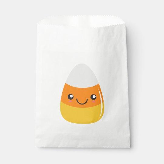 Glücklicher Halloween-Süßigkeits-Mais Emoji Geschenktütchen