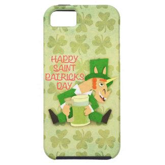 Glücklicher Heiligen Patrick Tag iPhone 5 Schutzhülle