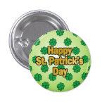 Glücklicher Heiligen Patrick Tagesknopf Button