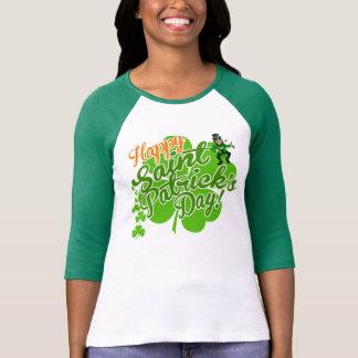 Glücklicher Heiligen Patrick Tageskobold T-Shirt