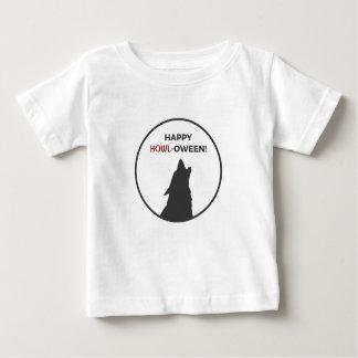 Glücklicher Heulen-oween Baby T-shirt