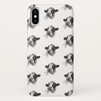 Glücklicher Holsteiner DairyPreserver (weiß) iPhone X Hülle