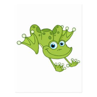 Glücklicher Hopfen-Frosch Postkarte