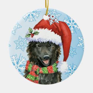 Glücklicher Howlidays Belgier-Schäferhund Keramik Ornament