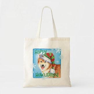 Glücklicher Howlidays Isländer-Schäferhund Tragetasche