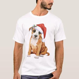Glücklicher Howlidays Staffordshire Bullterrier T-Shirt