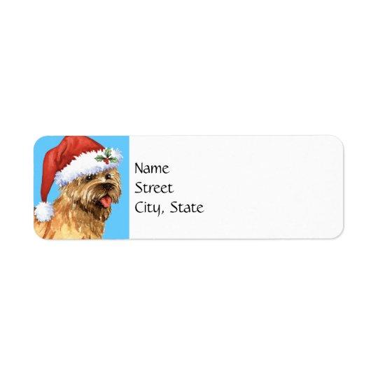 Glücklicher Howlidays Steinhaufen Terrier