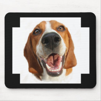 Glücklicher Hund Mauspad