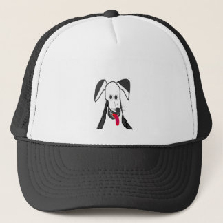 Glücklicher Hund Truckerkappe