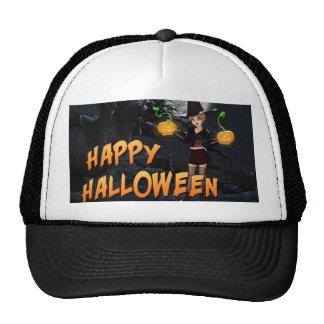Glücklicher Hut Halloweens Skye Baseballmütze