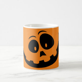 Glücklicher Jack-O' - Laternen-Kürbis - fertigen Kaffeetasse