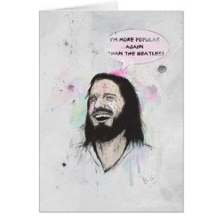 Glücklicher Jesus Karte