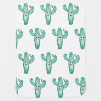 Glücklicher Kaktus mit maraca Geklapper Puckdecke
