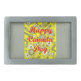 Glücklicher Kanada-Tag 2 Rechteckige Gürtelschnallen
