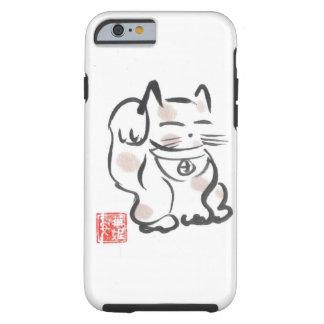 Glücklicher Katze iPhone 6 Fall Tough iPhone 6 Hülle