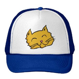 Glücklicher Katzen-Hut Mützen