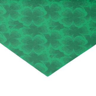 Glücklicher Klee-irischer Frühlings-Klee des Seidenpapier