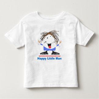 Glücklicher kleiner Mann Kleinkind T-shirt