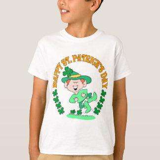 Glücklicher Kobold scherzt Shirt