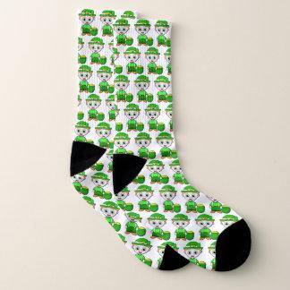 Glücklicher Kobold Socken