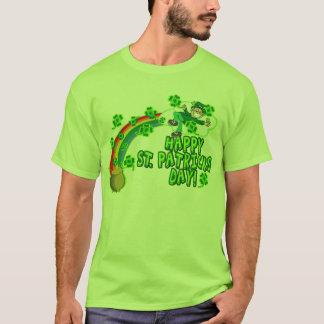 Glücklicher Kobold St. Patricks Tages T-Shirt